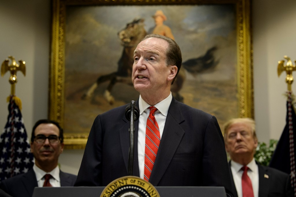 Trump Backer David Malpass Named World Bank President