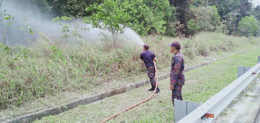 57 forest, bush fires reported in Brunei since early March