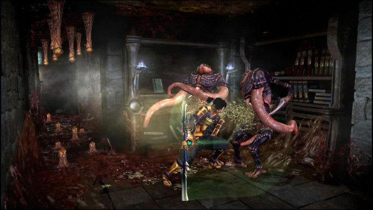 Close encounter: The game's mood and setting are also fittingly horror-filled, with a lot of roaming around the castle whilst going toe-to-toe with various demons.
