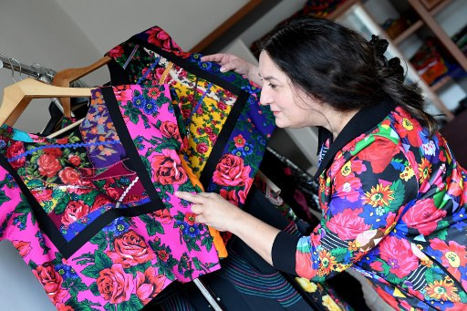 Hungarian Roma designer fights stereotypes with fashion