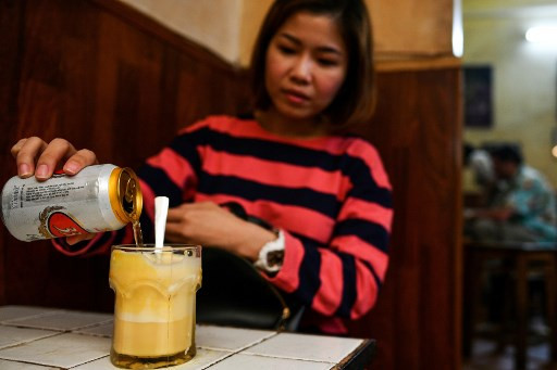 Frothed not fried: Hanoi's egg beer draws curious drinkers