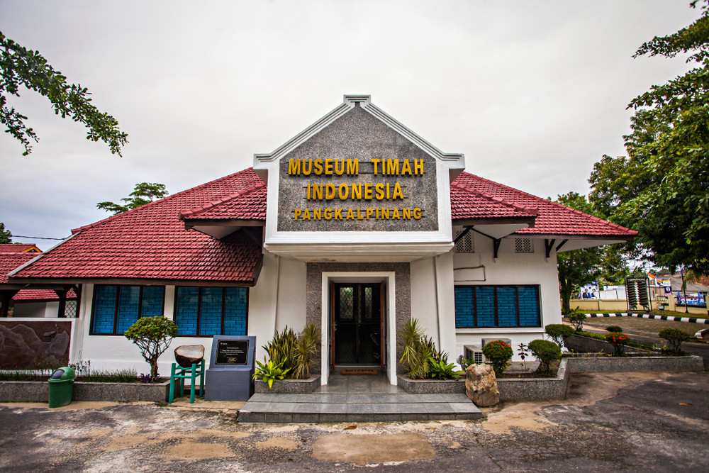 Indonesian Tin Museum to lure tourists with locally made products