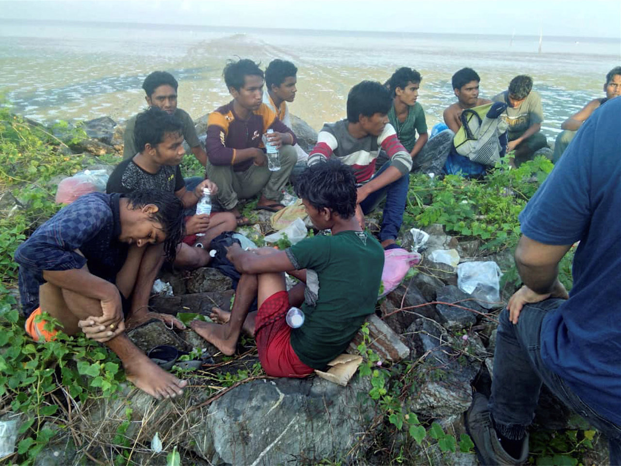 Second group of Rohingya Muslims found on Malaysian beach: Police