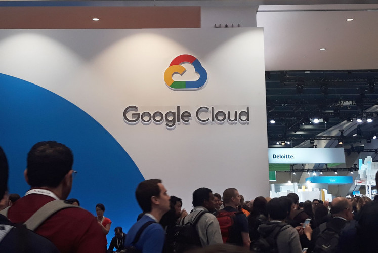 Visitors at the 2019 Google Cloud NEXT '19