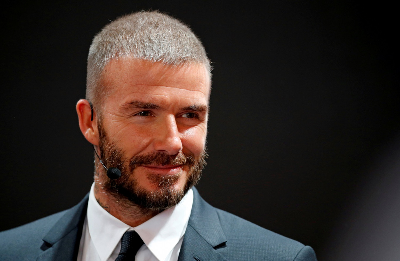 David Beckham voices appeal to end malaria - in Swahili and Yoruba