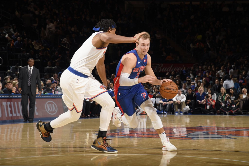 Detroit rout Knicks to claim last playoff ticket