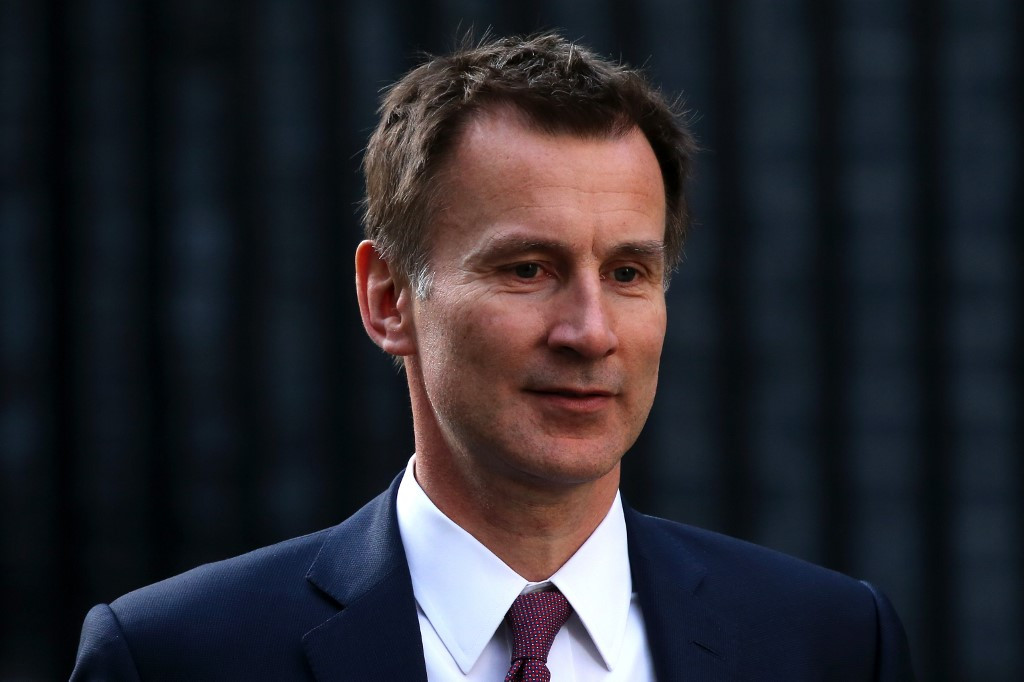 UK's Hunt scrapped Brunei-owned hotel event over anti-gay laws