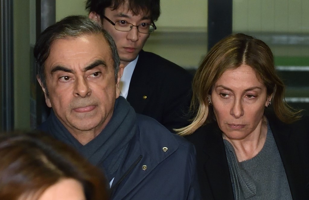 Wife of ex-Nissan boss Ghosn seeks Trump help