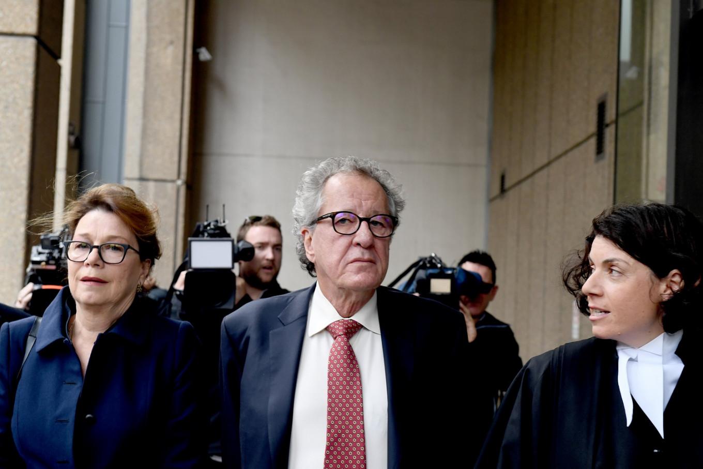 Oscar-winner Rush wins defamation case against News Corp's Australian arm