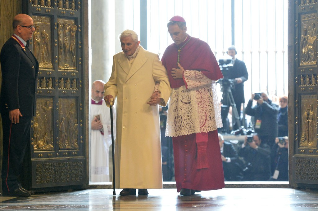 Ex-pope Benedict blames Church sex abuse crisis on '68