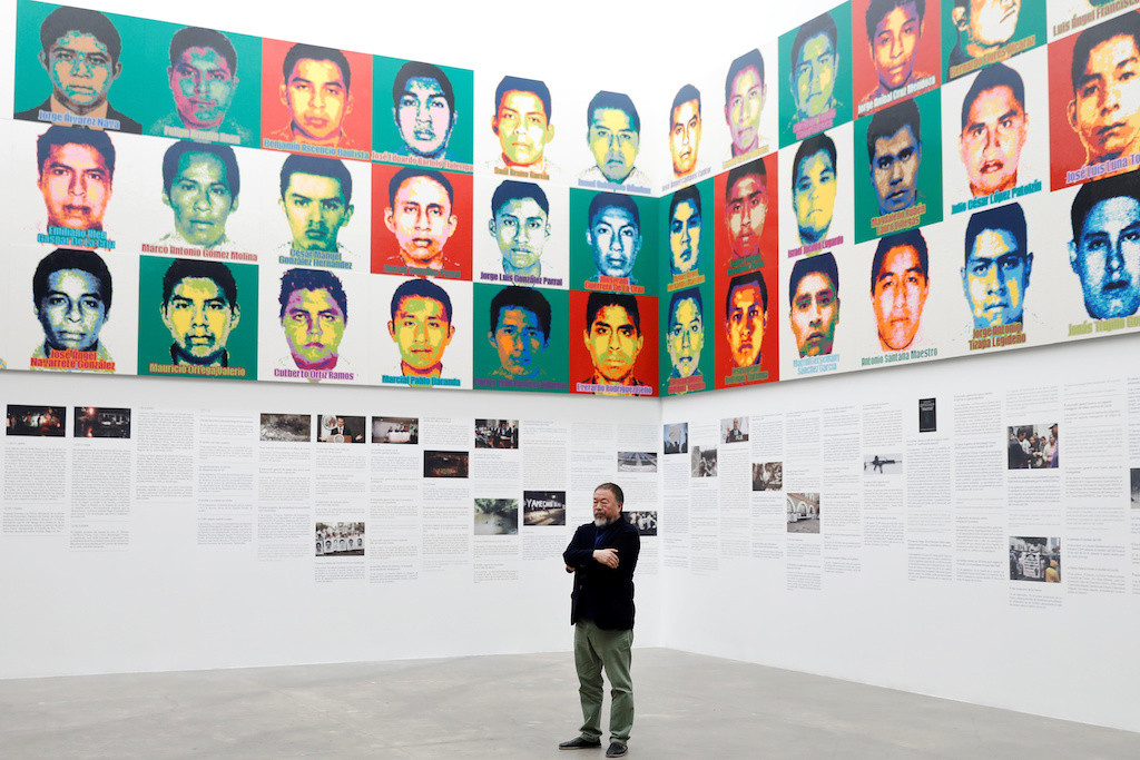 Artist Ai Weiwei takes aim at state violence in Mexico with Legos