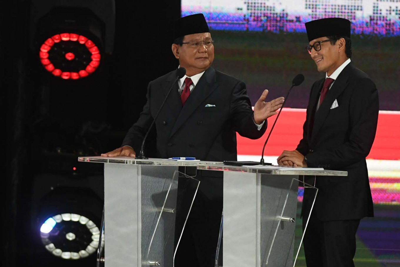 'Who are you debating with?': Prabowo remark rubs Dems the wrong way