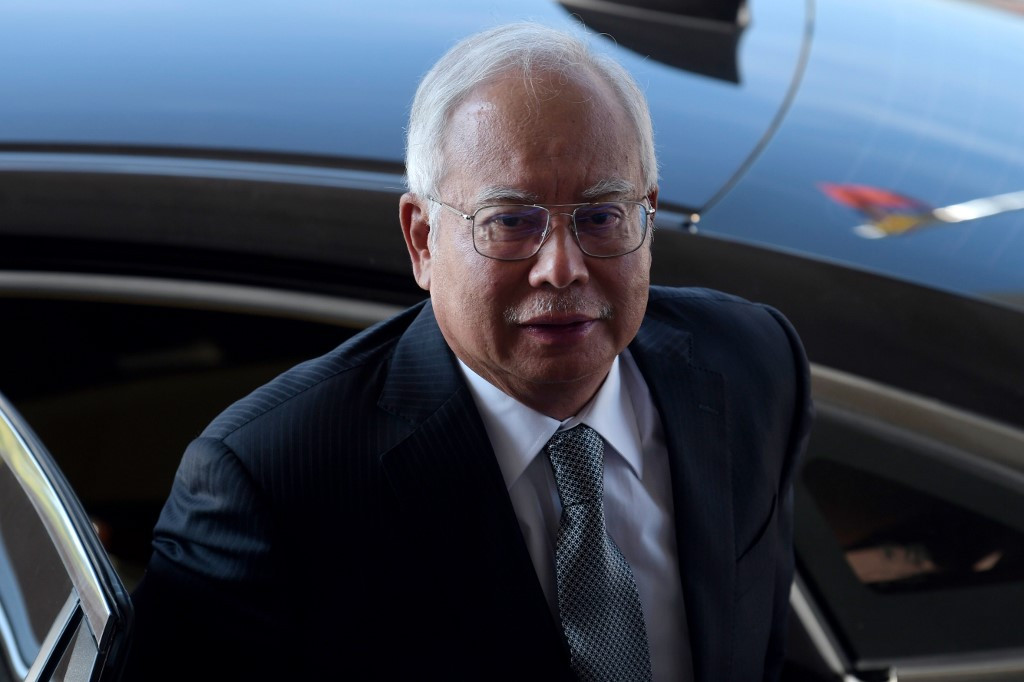 Malaysia ex-PM 'sought Abu Dhabi royal's help over scandal'