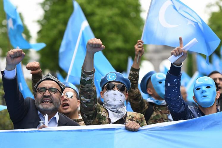 US raises China's Uighur problem with Indonesian Muslim groups