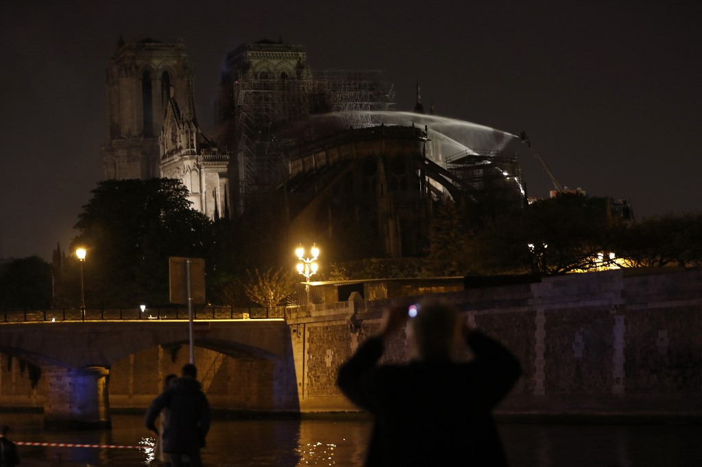 Disney pledges $5 million for Notre Dame reconstruction