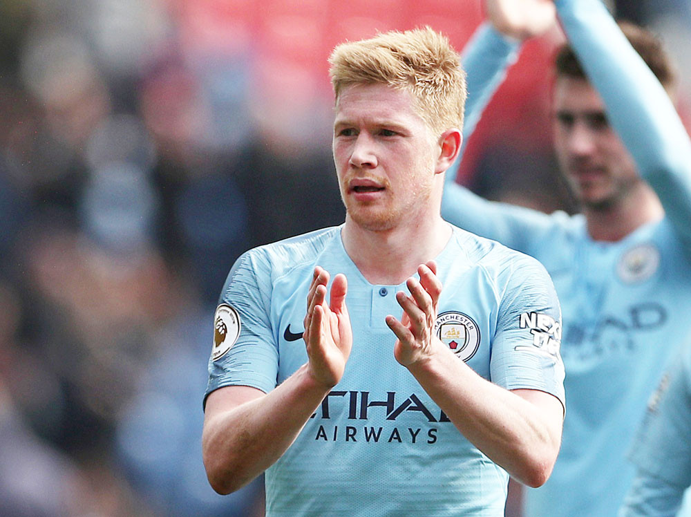 De Bruyne hails Manchester City display in win over Chelsea