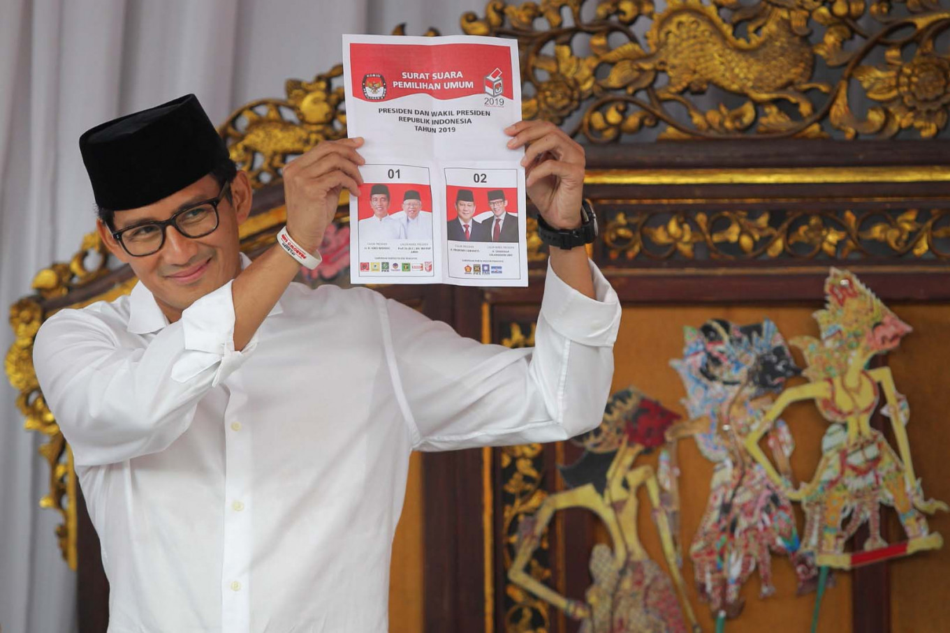 Congratulations to the President: Sandiaga