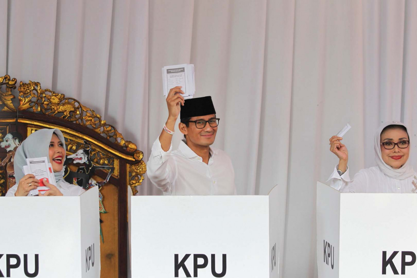 Jokowi remark gives political boost to Sandiaga