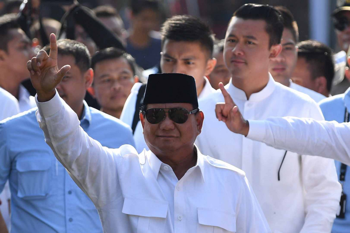 Prabowo could still become president: Gerindra