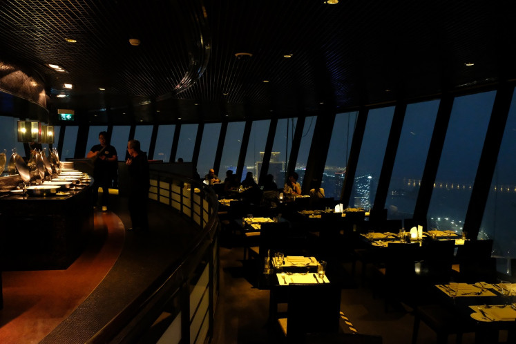 360 degrees dinner: Macau Tower's restaurant rotates fully every one-and-a-half hours, which is a truly unique and romantic experience.