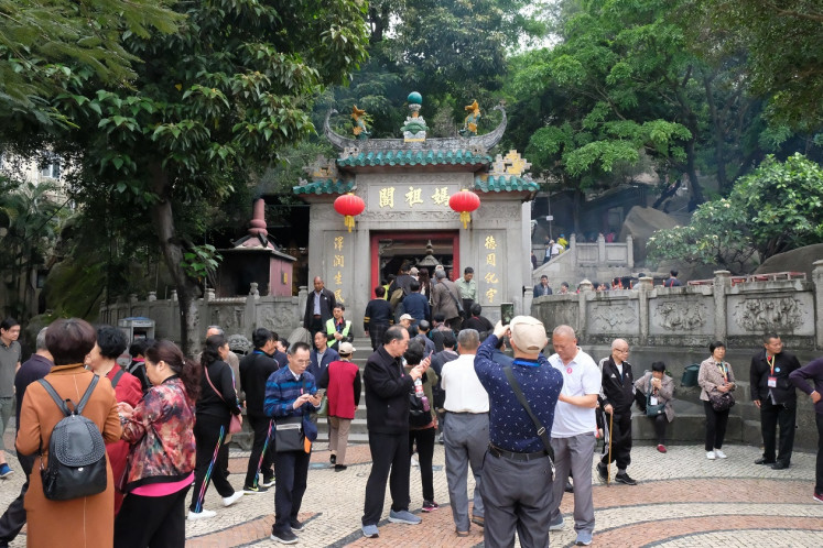 Sea goddess temple: A Ma temple is Macau's oldest temple, built in 1488 to commemorate the sacred sea goddess who blesses fishermen. The temple still functions as a house of worship.