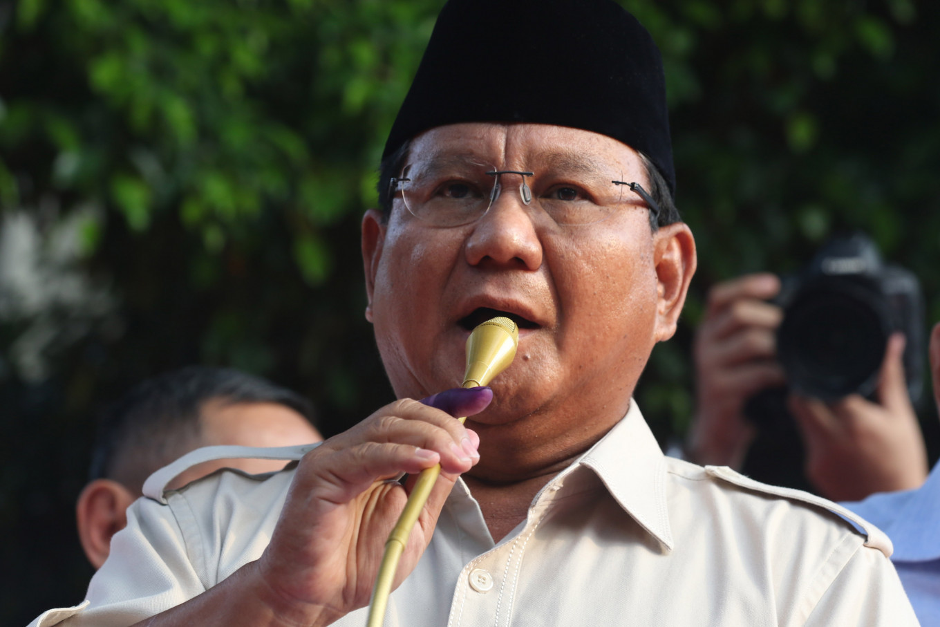 'We have already won,' Prabowo claims