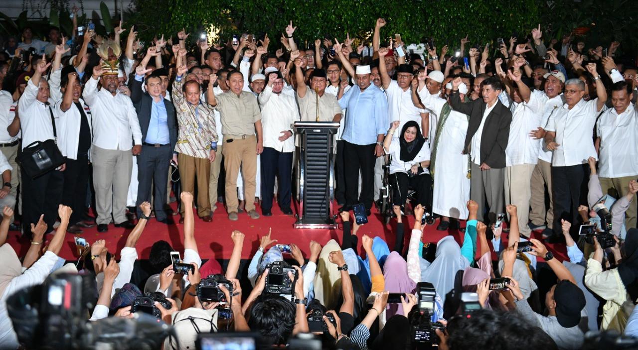 'We have already won,' Prabowo claims