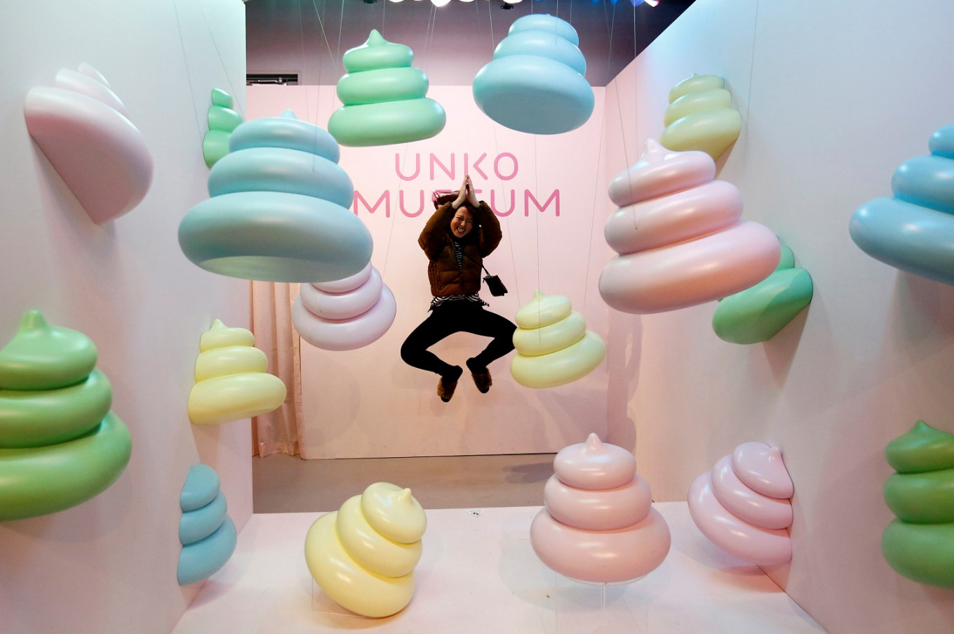 Japanese museum show tries to clean up poop's image