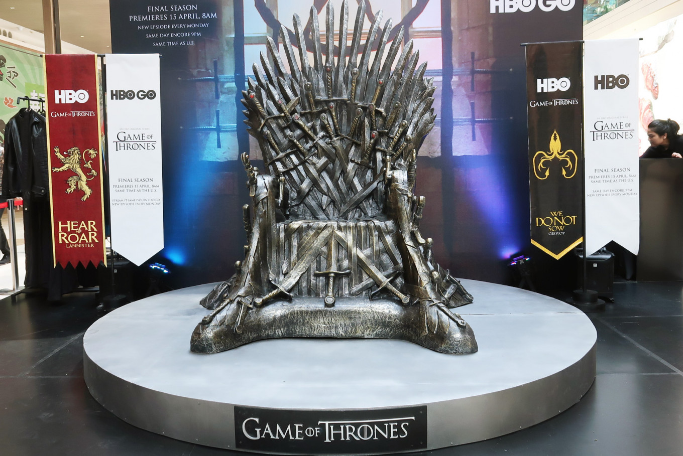 From Iron Throne to Ice Dragon: 'Game of Thrones' arrives in Jakarta