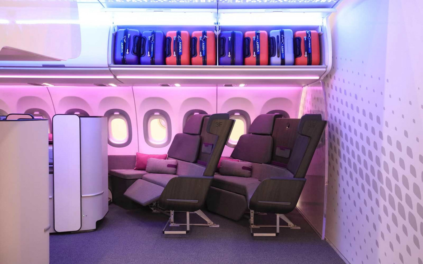 Airbus introduces couch-style plane seat for business class