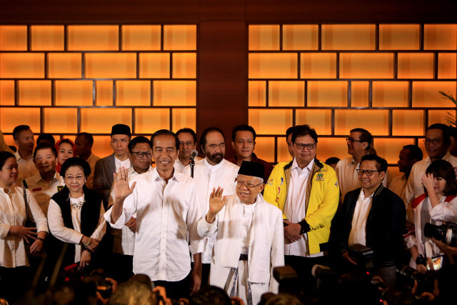 Jokowi's coalition parties divided over title of omnibus bill on job creation