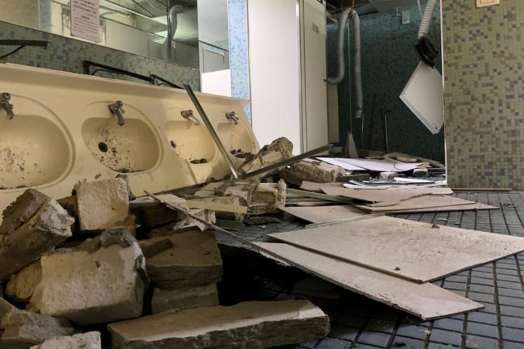 Schools evacuated, subway services halted as quake rocks Taiwan