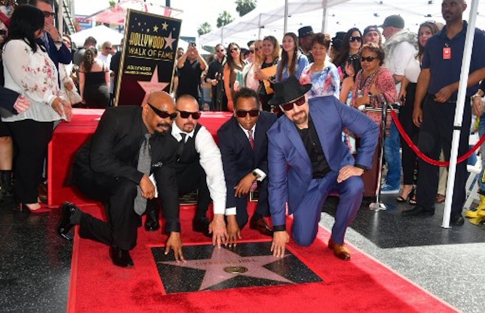 Latin hip-hop group Cypress Hill unveil 'Walk of Fame' star