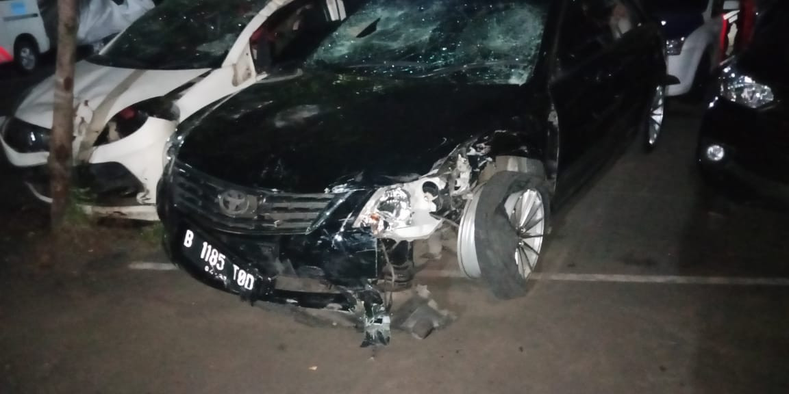 Man named suspect in multiple-vehicle crash