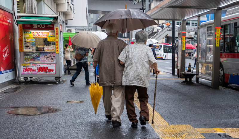 Aging Japan to see 25% of breadwinners turn 75 or older by 2040
