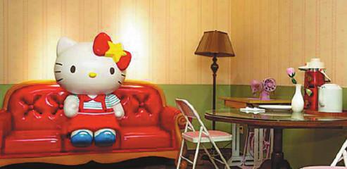 Shanghai purrs over new Hello Kitty theme park