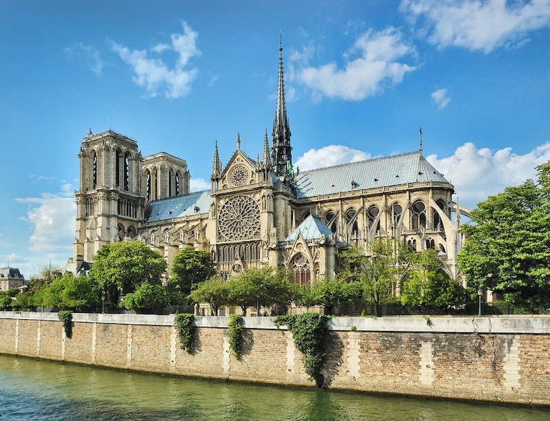 In Notre-Dame's shadow, a 'village' faces uncertain future
