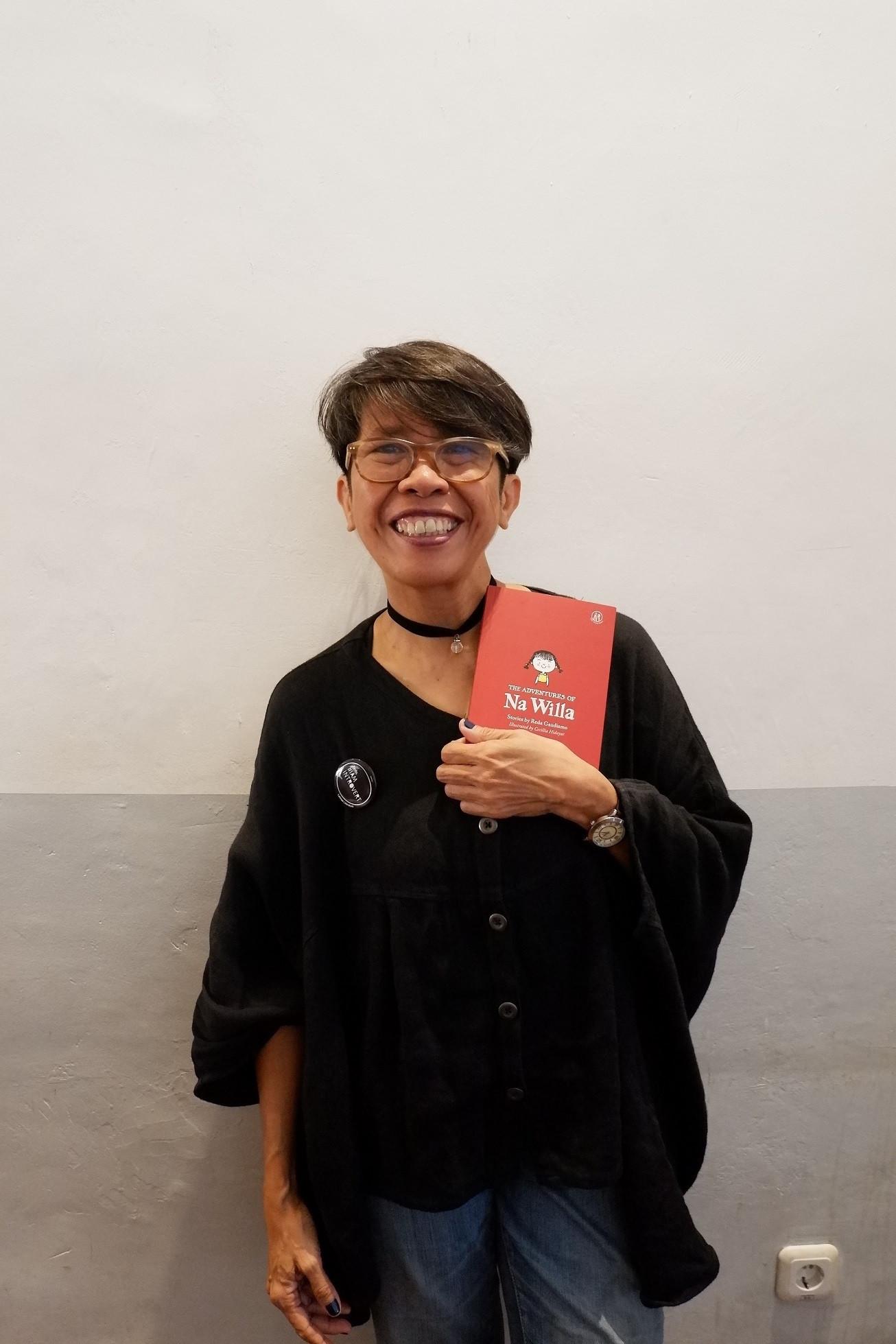 Reda Gaudiamo's journey from aspiring writer to London Book Fair star