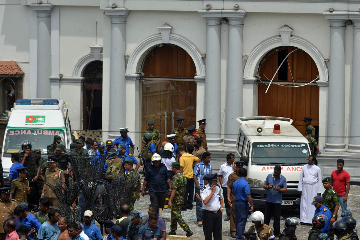 Easter bombings kill more than 200 inSriLanka