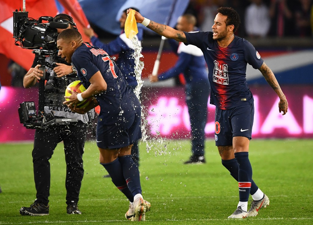 Neymar returns as Mbappe flattens Monaco in title party