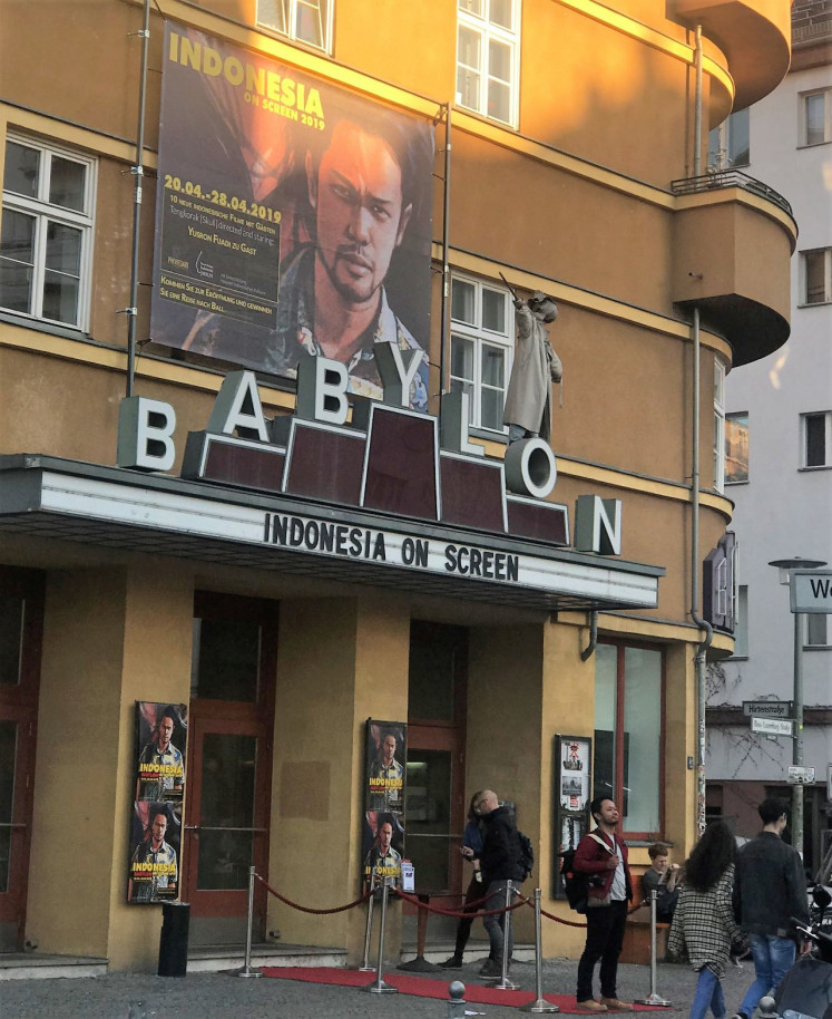 Indonesia on Screen: Babylon, a cinema in Berlin known for supporting independent movies, currently hosts the second edition of the Indonesian film festival.