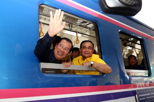 Cambodia and Thailand reconnected by rail after 45 years