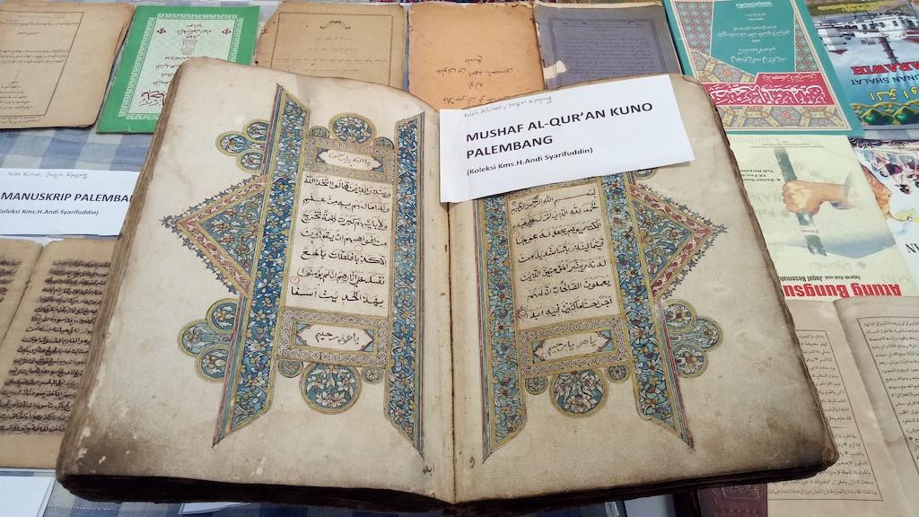 Palembang Literary Week showcases Southeast Asia's oldest printed Quran