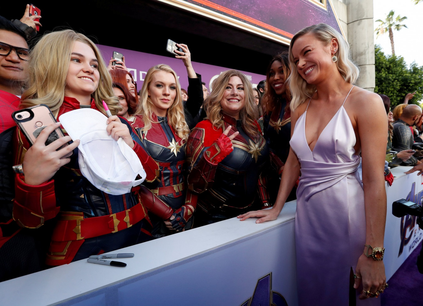Hollywood Celebrates The Finale Of Avengers Movies