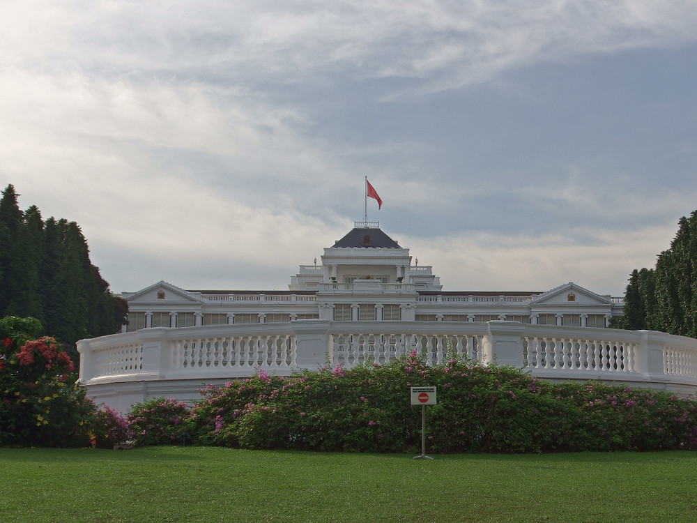 Singapore president to launch Lego replica of Istana at open house