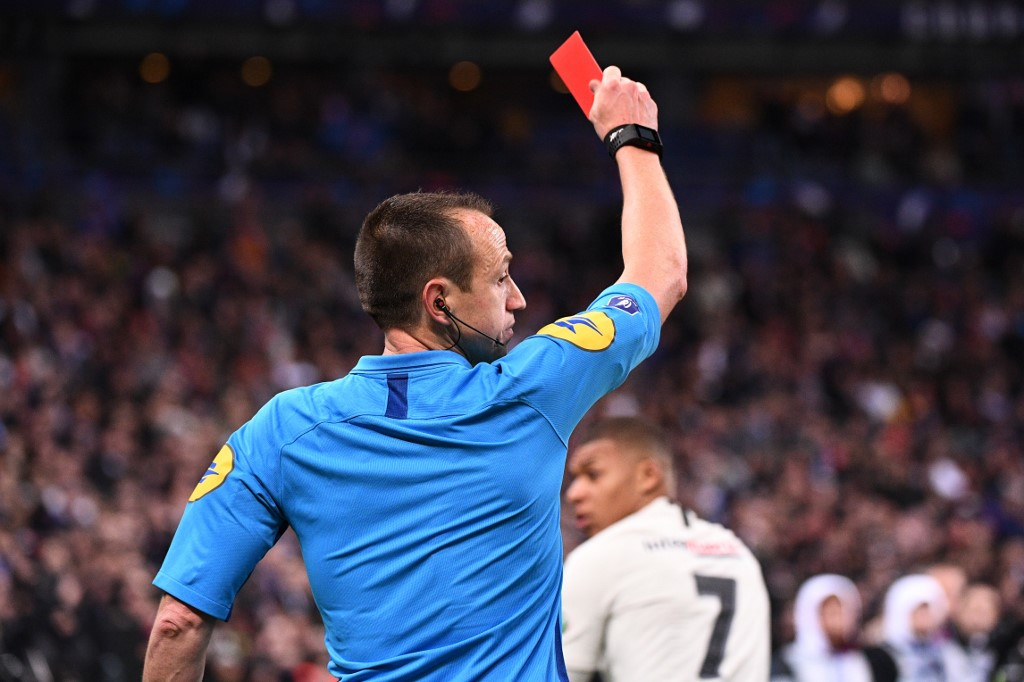 Sent off for a cough? FA issues guidelines to referees