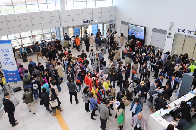 Korea's largest cruise terminal opens in Incheon