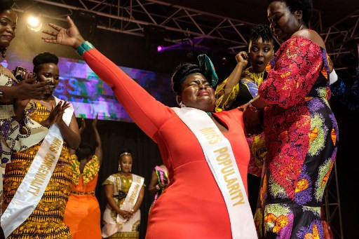 Businesswoman wins Uganda's first 'Miss Curvy' beauty contest