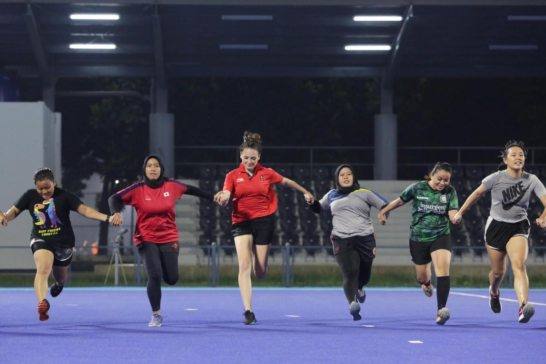 Jakarta Banteng Rugby Club's badass women