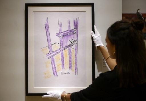 Mandela prison drawing goes under the hammer
